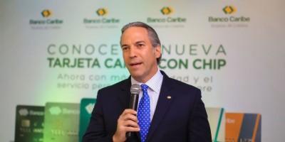 Presidente Banco Caribe destaca fortalecimiento en segmento tarjetas crédito