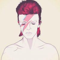 """Multifacético. """"Space Oddity"""", que alcanzó el número cinco de la lista de singles del Reino Unido, también vio a Bowie revelar el primero de sus personajes: el Mayor Tom, un astronauta de ficción. Fue en 1972 cuando Bowie se transformó en bisexuales alienígena con Ziggy Stardust, uno de sus personajes más famosos, cuya historia de ficción se cuenta en """"Auge y caída de Ziggy Stardust y las arañas de Marte"""". Bowie también creó otras alter egos, como Aladdin Sane, The Thin White Duke y Nathan Adler. Foto:Fuente Externa"""
