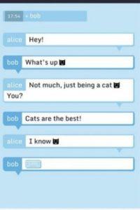 El servicio asegura que todos los mensajes son encriptados antes de salir de su dispositivo y ni ellos pueden leerlos. Foto:vía Tumblr.com