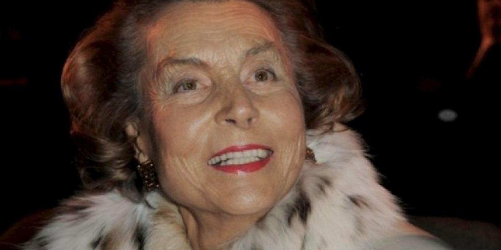 Vive en París, Francia y es la dueña de la empresa L'Oreal Foto:Getty Images