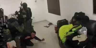 Tras un enfrentamiento con un grupo armado, los agentes lograron su captura. Foto:AP