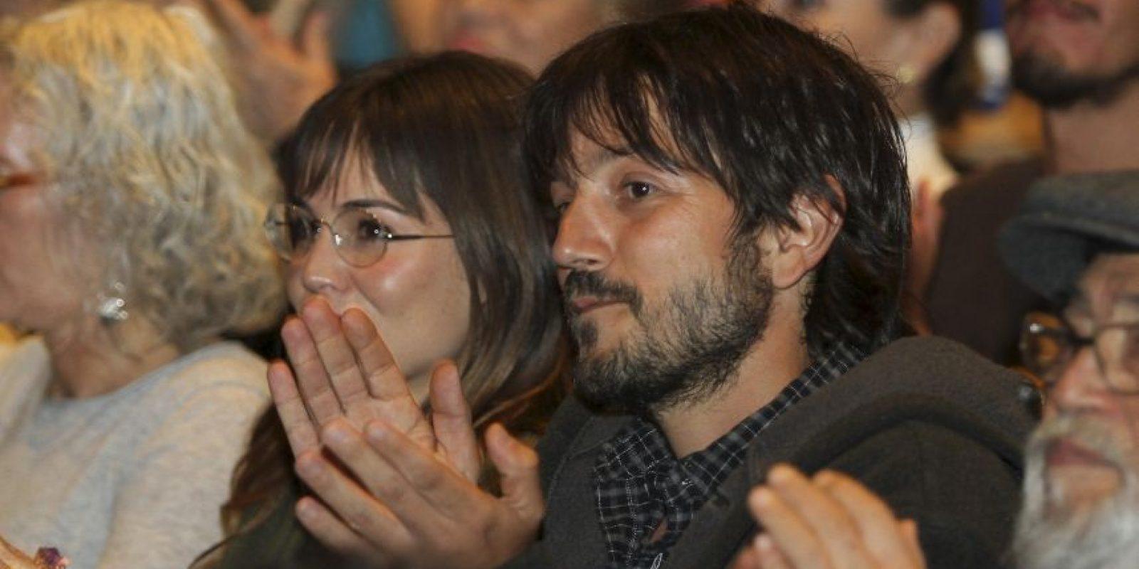 Ambos se veían contentos Foto:Grosby Group