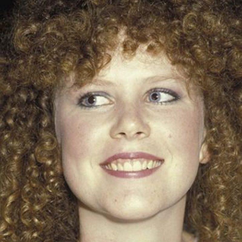 Nicole Kidman, con rizos salvajes y con cachetes. Foto:vía Getty Images
