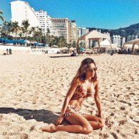 5. Sara Corrales. La modelo y actriz colombiana también disfruta de sus vacaciones en playas mexicanas. Foto:Vía Instagram/@saracorrales