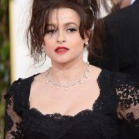 Helena Bonham Carter siendo ella misma. Foto:vía Getty Images