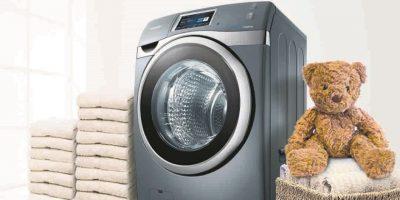 La lavadora AddWash fue otra de las innovaciones presentadas por Samsung. Foto:Fuente Externa