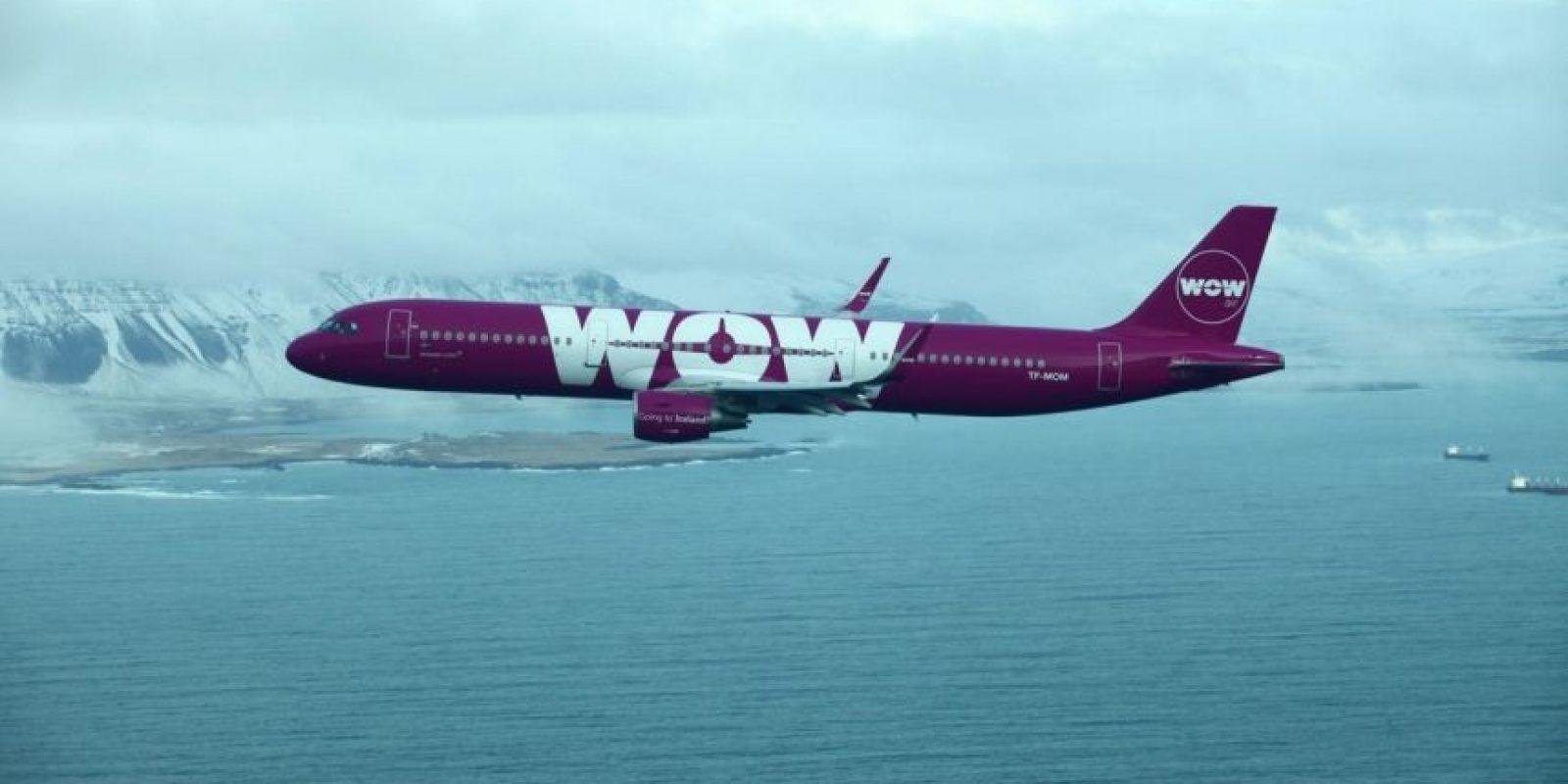 Wow Air ofrecerá vuelos trasatlánticos por 199 dólares. Foto:vía facebook.com/wowiceland