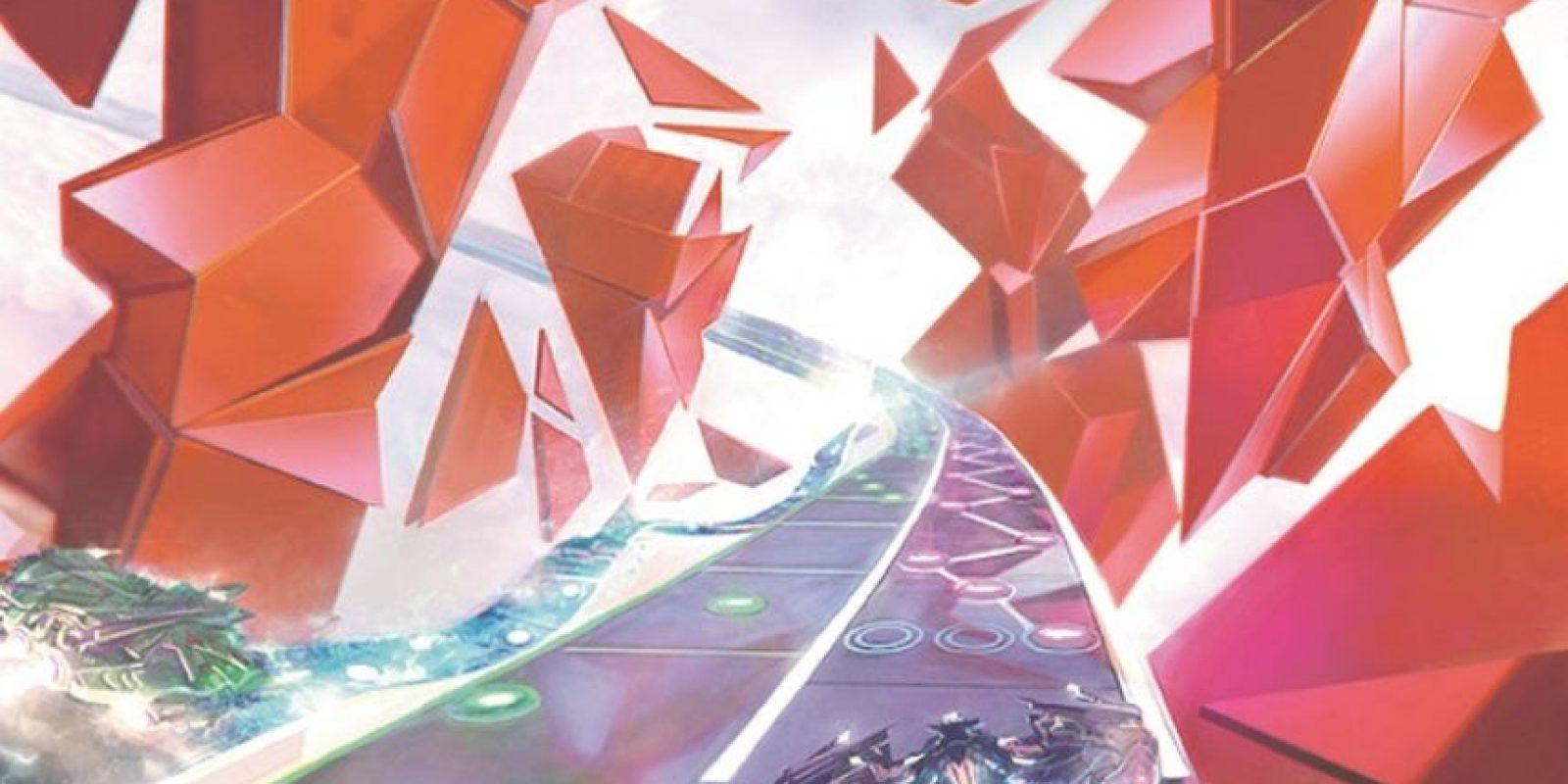 1- Amplitude HD. Este juego desarrollado por Harmonix que combina ritmo, música y color experimenta ahora una remasterización en alta definición. La propuesta, en la que el jugador viaja en una nave avanza a través de pistas de sonido, llegará en exclusiva para PlayStation 3 y PlayStation 4. Foto:Fuente Externa