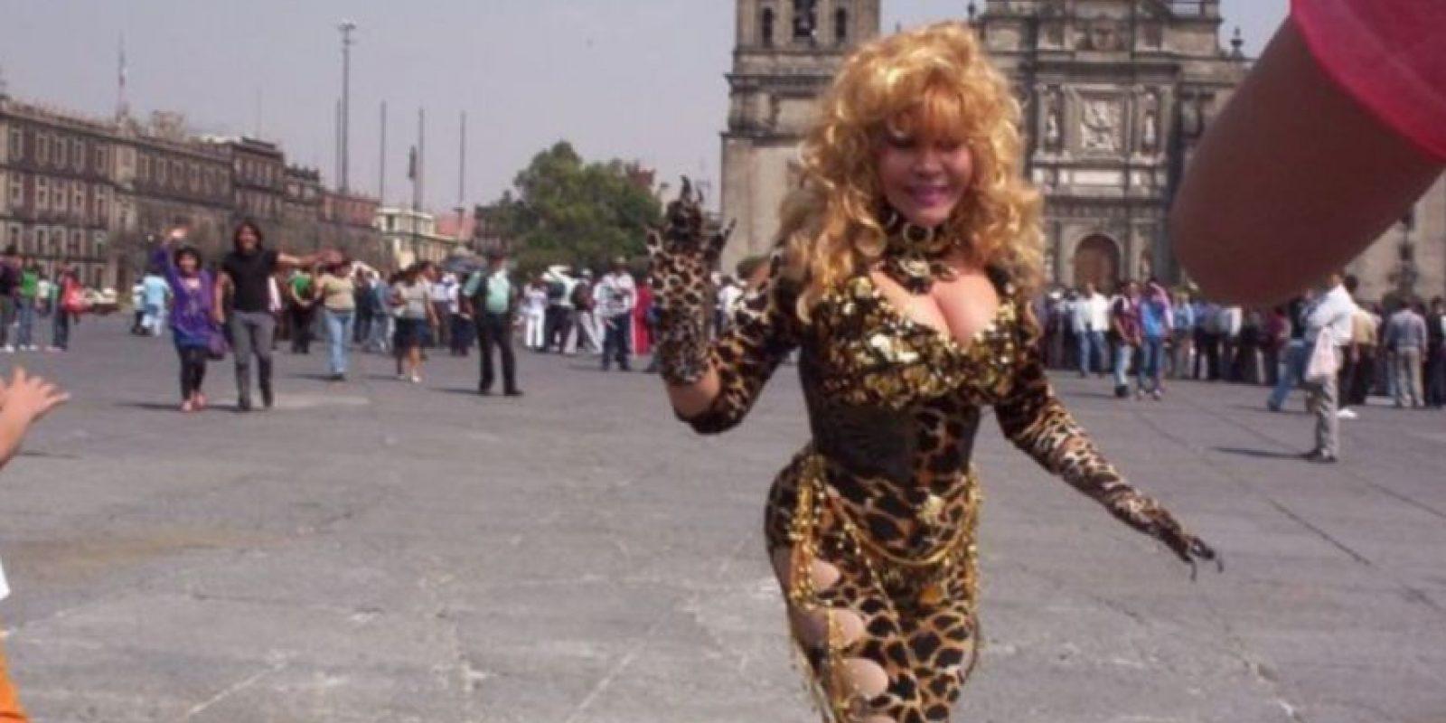 """En 2011 estrenó """"Fiesta Felina"""". Foto:vía Facebook/La Tigresa del Oriente"""