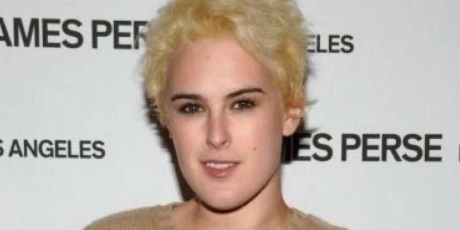 Rummer Willis cometiendo atentados contra ella misma. Foto:vía Getty Images