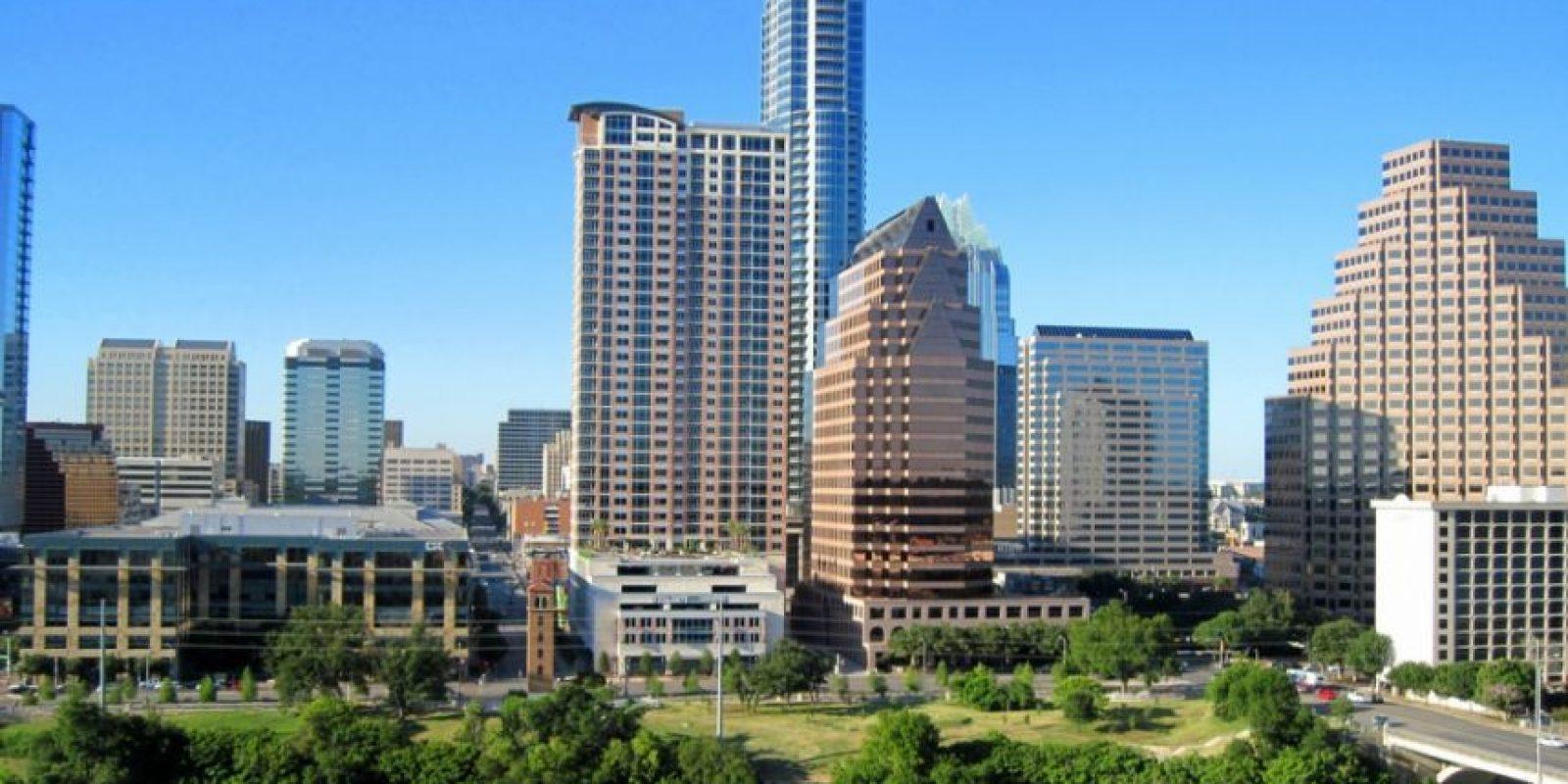 3. Austin, Texas. Su crecimiento es de 0.80 por ciento, con un ingreso anual de 58 mil 368 dólares. Foto:Vía Flickr