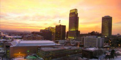 10. Omaha, Nebraska. Su ingreso anual promedio es de 55 mil 211 dólares. Sin embargo, tiene una disminución de empleos de menos del 1.48 por ciento. Foto:Wikipedia Commons