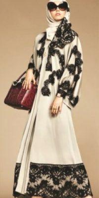 Línea cápsula de hiyabs y abayas. Foto:Dolce & Gabbana