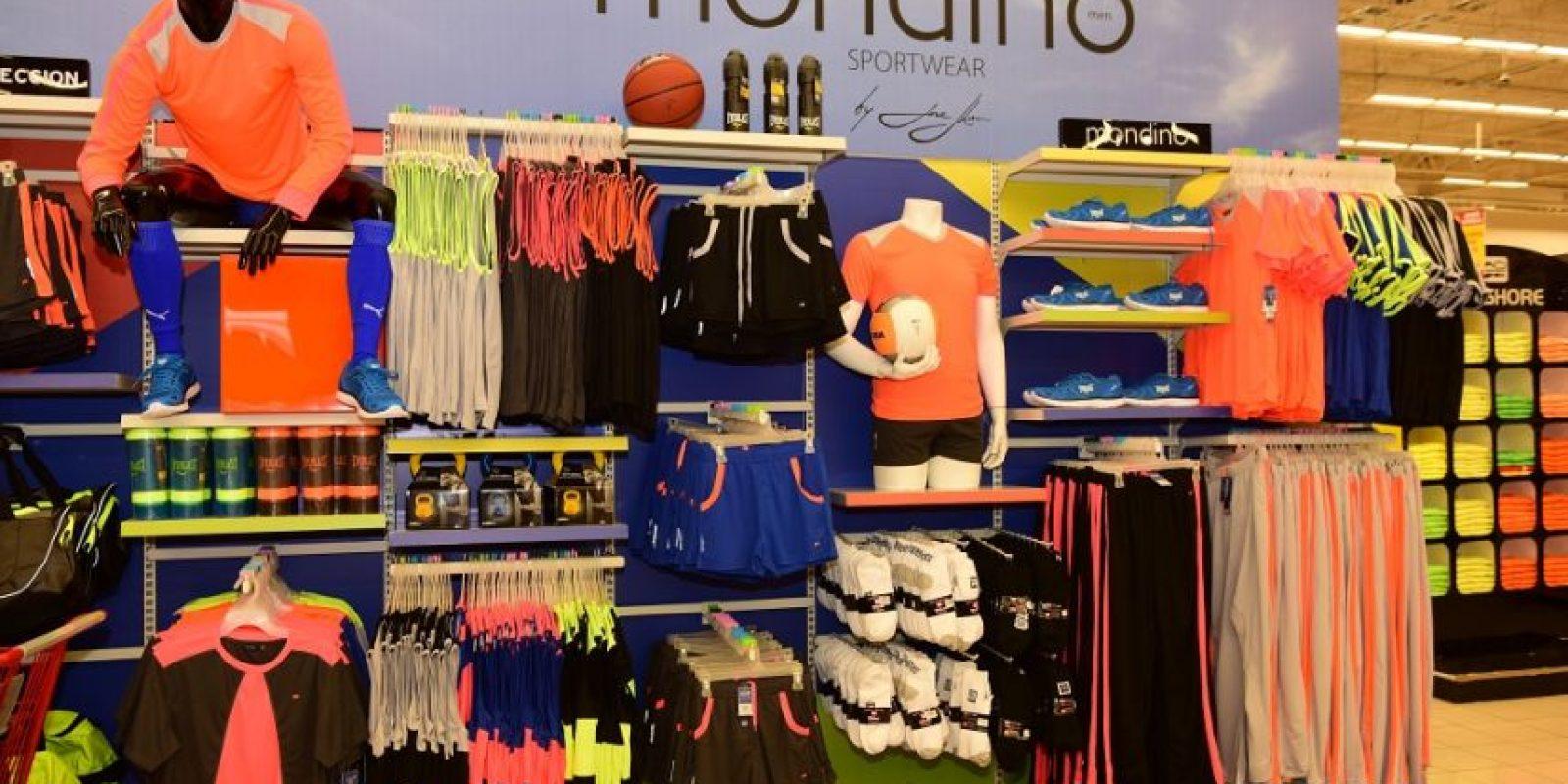 La nueva colección deportiva Mondino Sportwear by José Jhan ya está disponible en todas las tiendas Jumbo. Foto:cortesía de Grupo ccn
