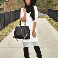 Nadira Abdul Quddus. Más que destacarse por su estilo, es famosa por sus DIY. Crea cualquier tipo de prenda con sus famosos tutoriales. Foto:Fuente Externa