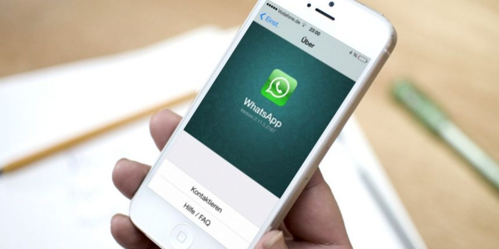Podrán intercambiar documentos a través de WhatsApp. Foto: vía Tumblr.com