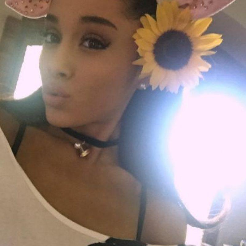 5- Ariana Grande. Foto:vía instagram.com/arianagrande