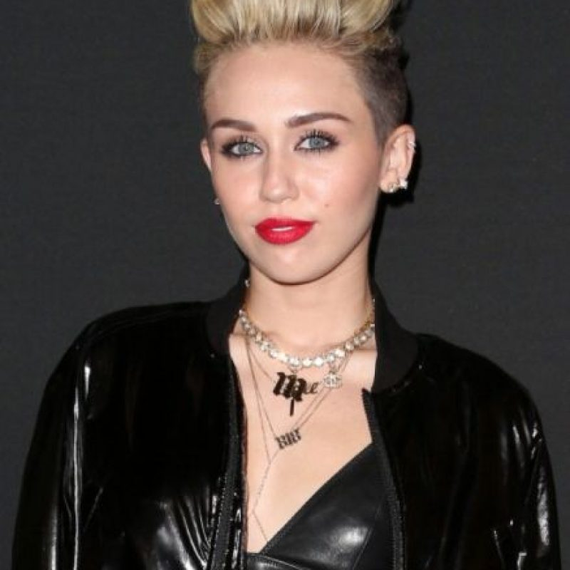1- Miley Cyrus, cantante estadounidense. Foto: Getty Images
