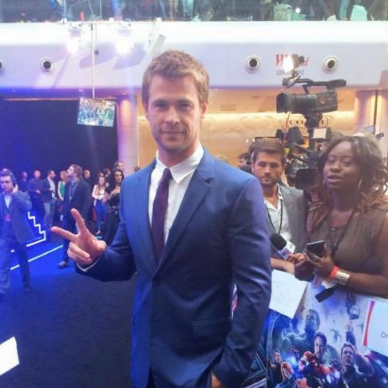 9- Chris Hemsworth, actor australiano. Foto: facebook.com/chrishemsworth
