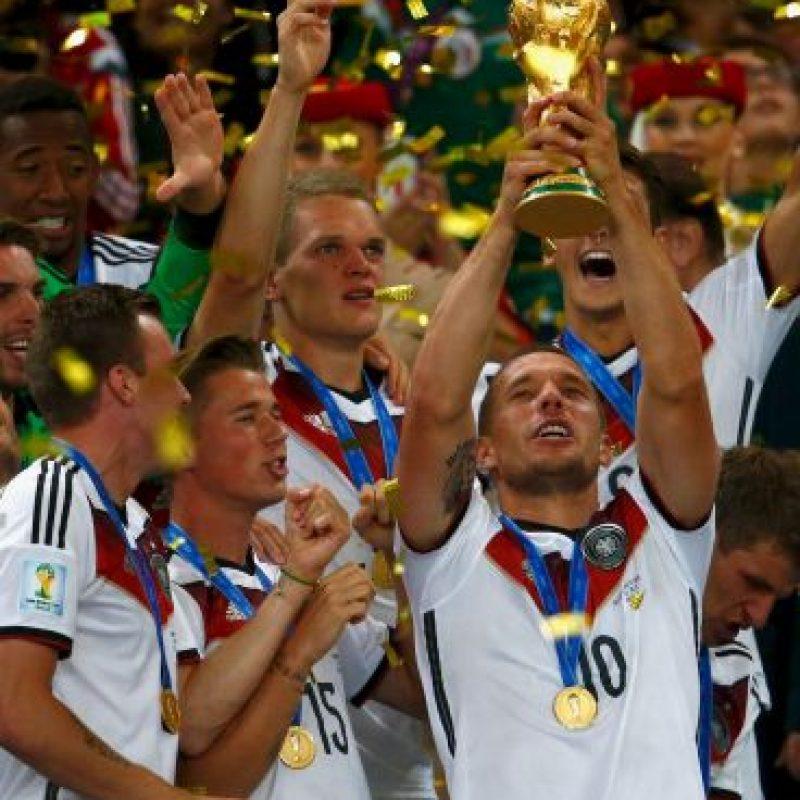 Fue campeón del Mundo en Brasil 2014 Foto:Getty Images
