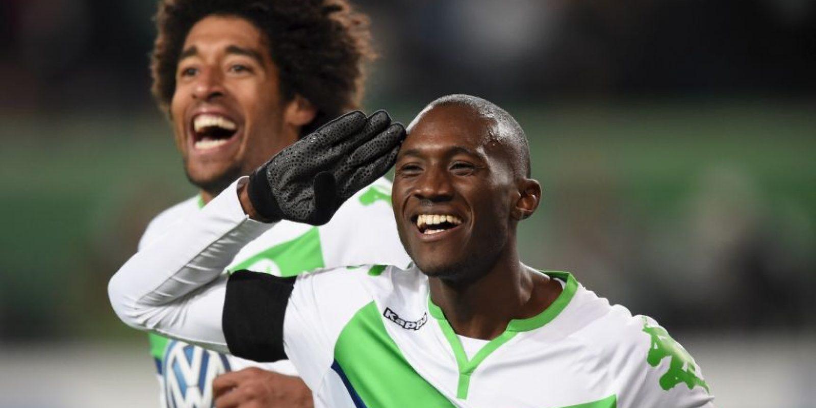 """El galo pertenece al """"Atleti"""" desde la temporada 2013-2014, pero hora milita en el Wolfsburgo alemán Foto:Getty Images"""