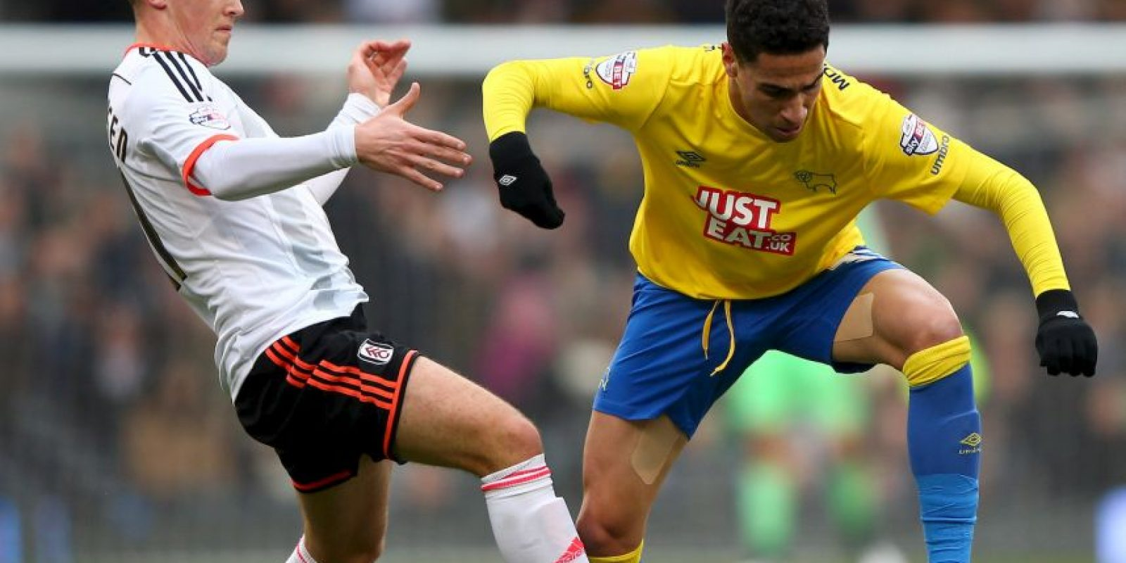 """Desde 2011 forma parte de la institución """"merengue"""", después de jugar en el Derby County inglés, ahora fue cedido al Sportng de Gijón Foto:Getty Images"""
