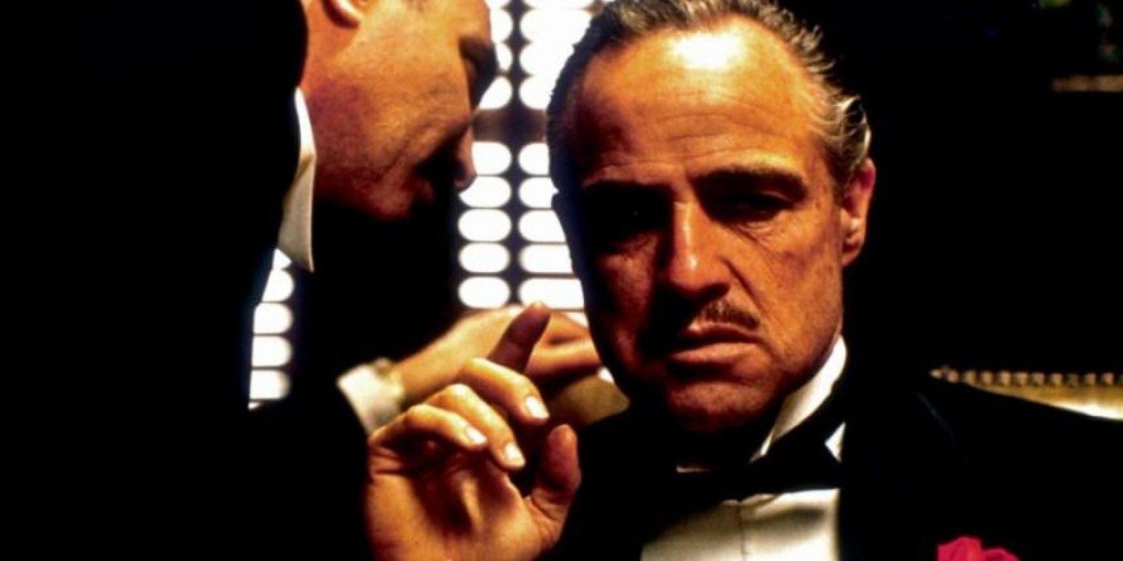 """El clásico filme """"El padrino"""" está basada en la novela del mismo nombre, de Mario Puzo. En 1973 ganó tres premios Óscar: mejor actor, mejor película y mejor guión adaptado. Foto:Paramount Pictures"""