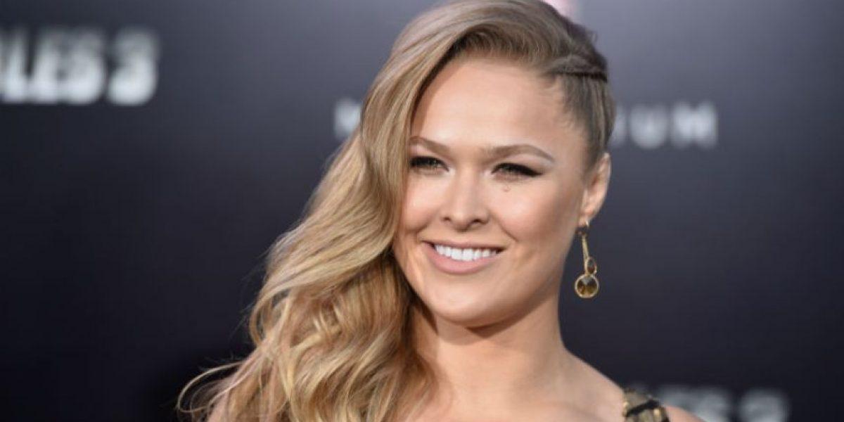Fotos: Así se ve Ronda Rousey sin una gota de maquillaje