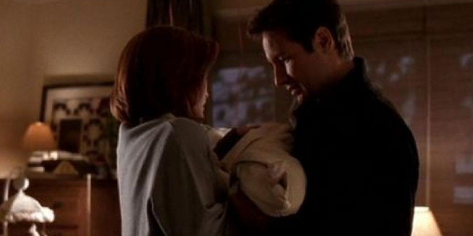 Scully (interpretada por Gillian Anderson), tuvo un hijo llamado Wililam. Foto:vía FOX