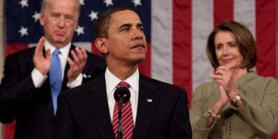 En 2009 dio su primer discurso del Estado de la Unión frente al Congreso del país. Foto:Wikipedia.org
