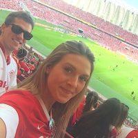 Es hincha del Inter de Porto Alegre Foto:Vía instagram.com/catherinetaffarel