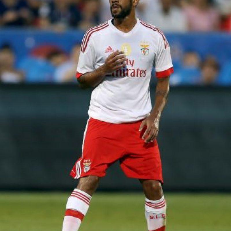 """Pertenece al """"Atleti"""", pero está cedido al Benfica de Portugal Foto:Getty Images"""