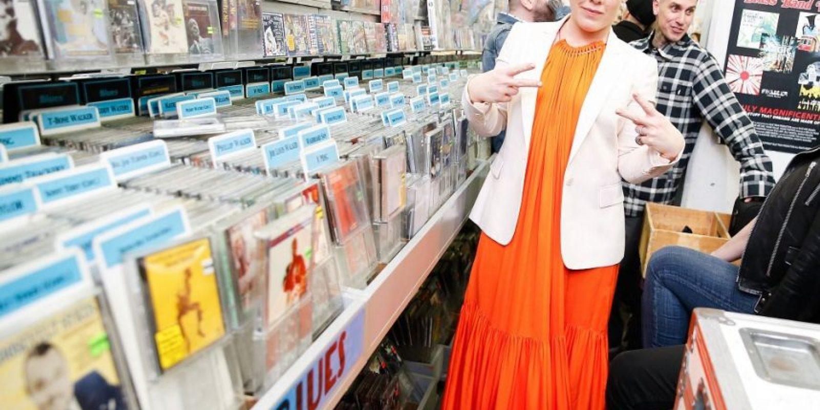 La cantante Pink tuvo a su cargo una de las presentaciones artísticas. Foto:Fuente Externa