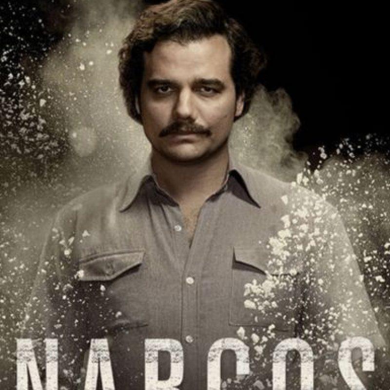 """2) """"Narcos"""" – Una temporada. Foto:vía Netflix"""