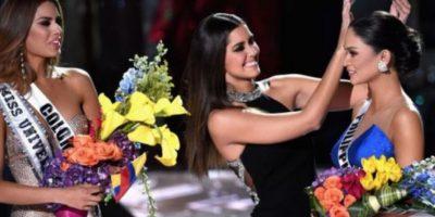 Pía Wurtzbasch, de Filipinas, era la ganadora. Foto:vía Getty Images