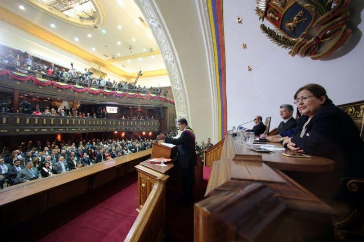 Evitando tomar en cuenta a la Asamblea Nacional, la cual actualmente está controlada por la oposición. Foto:AFP