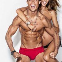 """Posaron juntos para la revista masculina """"GQ"""" Foto:Vía Grosby Group"""