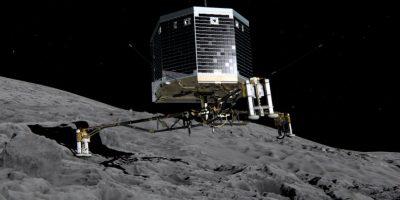 Esta ilustración muestra al Philae, un explorador que está siendo desarrollado por la Agencia Europa del Espacio para investigar cometas Foto:Getty Images