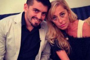 Cristina Sinagra. Mantuvo una relación extramarital con la italiana, madre de Diego Armando Jr. Foto:Getty Images