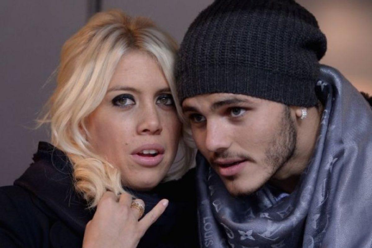 La vedette es la actual pareja del futbolista Mauro Icardi Foto:Getty Images