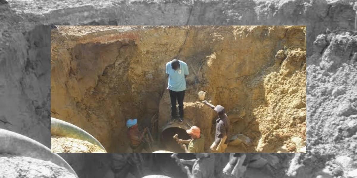 Boca Chica sin agua de nuevo por avería causada por las obras en la autopista