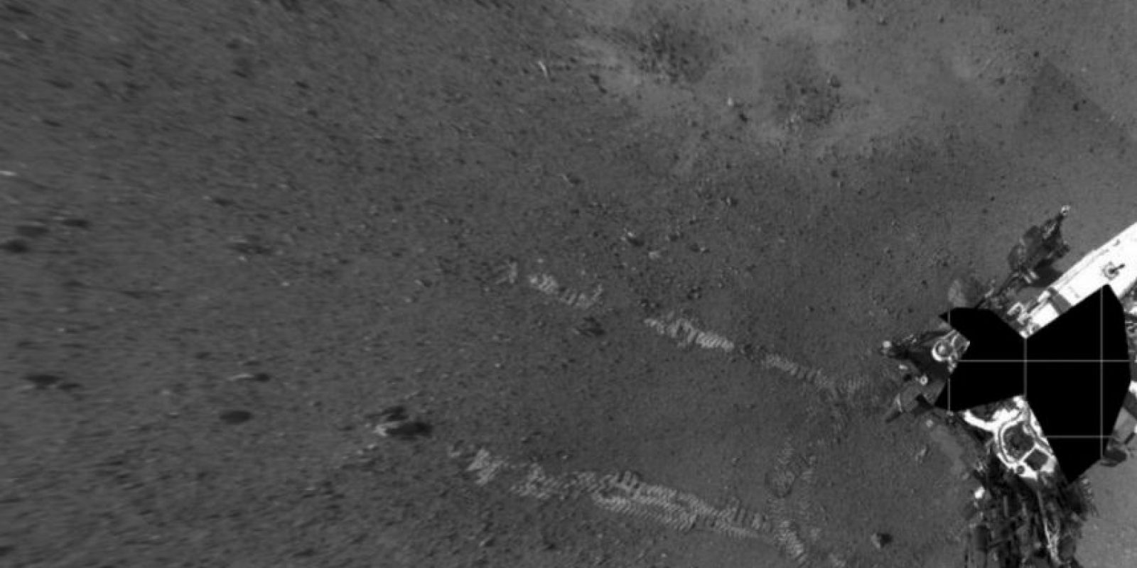 """A diferencia de los exploradores actuales, como el robot """"Curiosity"""", los humanos necesitarán trasladarse en el planeta Foto:NASA"""