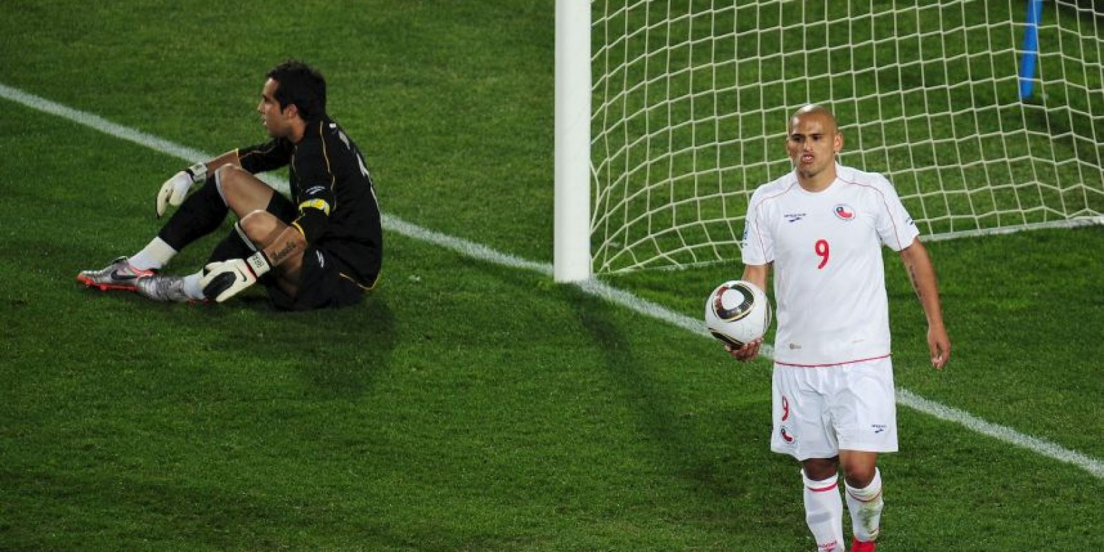 Jugó el Mundial de Sudáfrica 2010 con la Seleccíon de Chile Foto:Getty Images