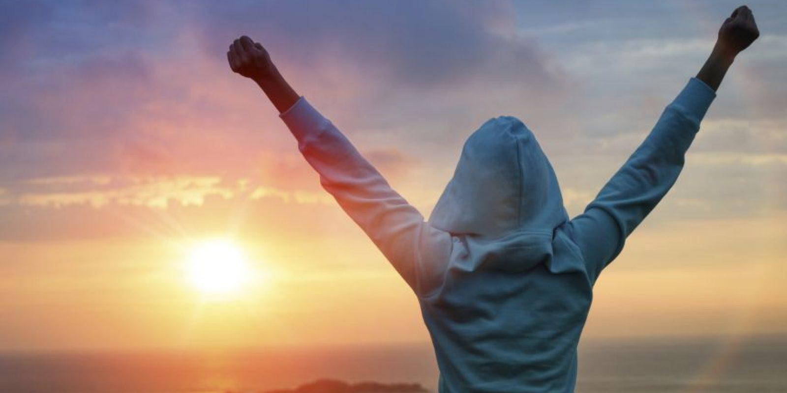 Visualízate cada día cómo te verías al cumplir tus metas. Foto: Fuente Externa