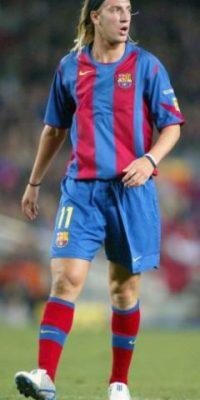 López debutó en River Plate en 2001. Tendría un paso por Barcelona (2004-2006) Foto:Getty Images
