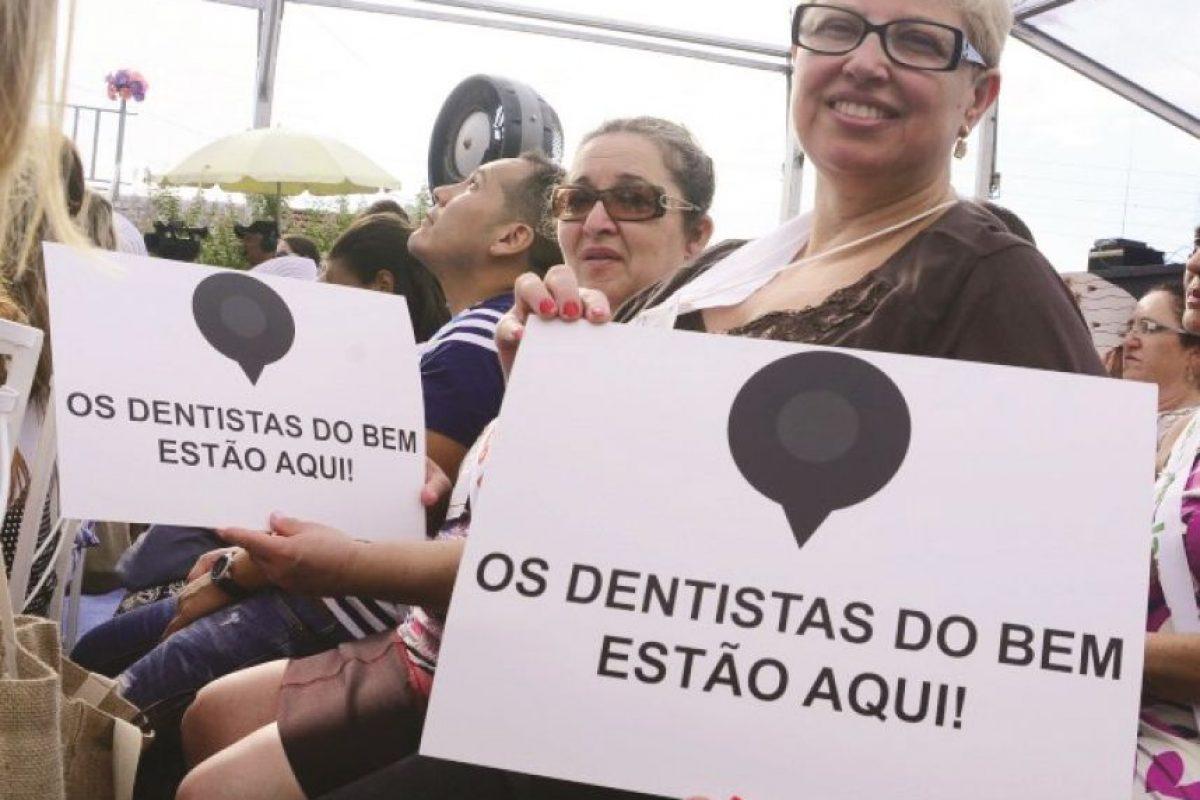 ¡Los dentistas buenos están aquí! Foto:TDB / Leo Franco