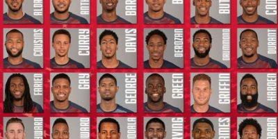Estrellas NBA en preselección de baloncesto USA
