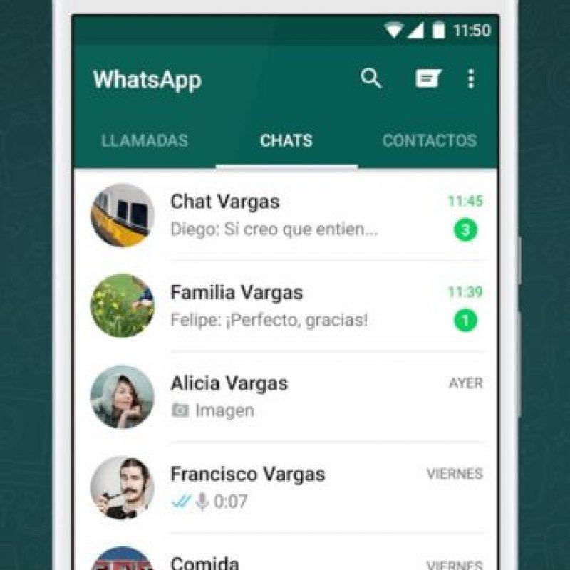 1. Un usuario pasa en promedio 195 minutos a la semana en WhatsApp. Foto:vía Tumblr.com