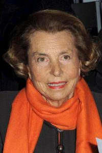 Es una de las principales accionistas de L'Oréal. Foto:Getty Images