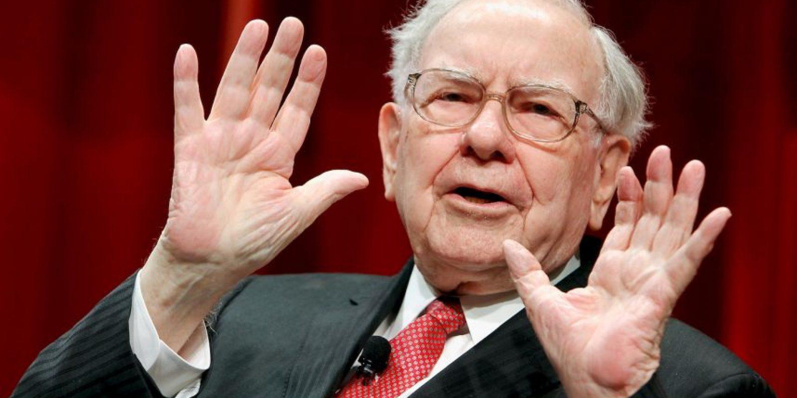 Esto, gracias a su empresa Berkshire Hathaway. Foto:Getty Images
